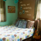 Teenage Girls Room And Inspiration Wall
